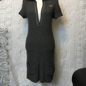 Hollister Hoodie Sweater Dress Sz Large NWT